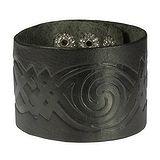 Bracelet Cuir Dessin_tribal Motif_tribal Spirale
