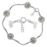 Armband Silber 925 Kristall