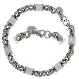 Bracelet Acier inoxydable Émail