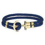 PAUL HEWITT Bracelet de plage Laiton Nylon Ancre corde navire