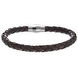 Bracelet Cuir Acier inoxydable