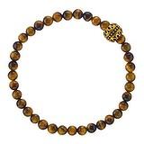 Bracelet Oeil-de-tigre Acier inoxydable Revêtement PVD (couleur or)