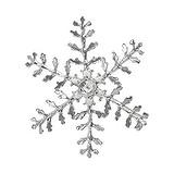 Silber-Anhänger Silber 925 Schneeflocke