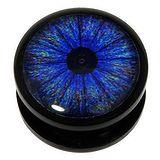 Plug Acrylglas Epoxiharz Auge Iris Pupille