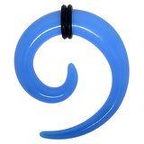 Plug Verre acrylique PVC Spirale