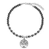 Armband Silber 925 Hämatit Baum Baum_des_Lebens