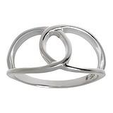 Fingerring Silber 925 Schleife Geschenkband Haarschlaufe