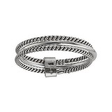 Fingerring Silber 925 Streifen Rillen Linien Spirale