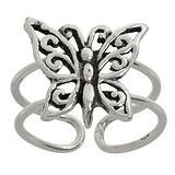 Zehenring Silber 925 Silber 925 Schmetterling Sommervogel