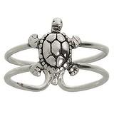 Zehenring Silber 925 Schildkröte