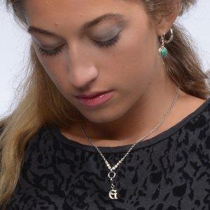 Ohrhänger Silber 925 Malachit