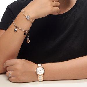PULSAR Reloj Acero fino Cristal mineral Cerámica