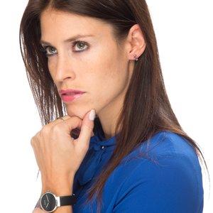 Bague de doigt Argent 925 Poudre de Diamant Revêtement de ruthénium noir