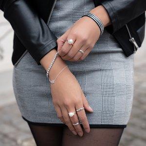 ring Zilver 925 Zoetwaterparels Kristal