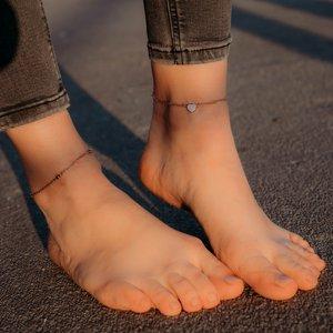 Catena piede Acciaio inox Rivestimento PVD (colore oro)