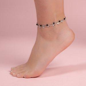 Fusskettchen Edelstahl Synthetische Perle