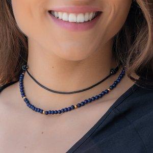 Schlichte Halskette Leder