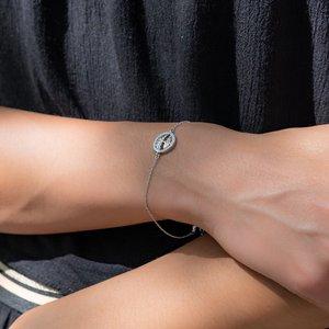 Bracciale Argento 925 Zircone Albero Albero_della_vita
