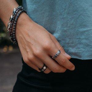 Bracelet Stainless Steel Hematite