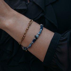 Bracelet Natural stone Stainless Steel