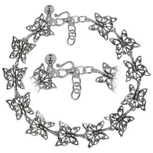Anklet Silver 925 Butterfly