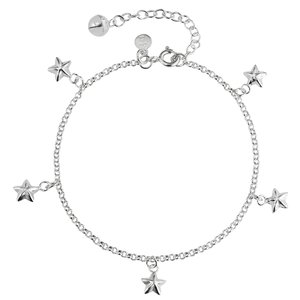 Anklet for children Silver 925 Star