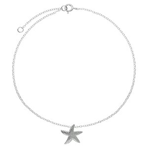 Anklet Silver 925 Starfish
