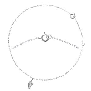Anklet Silver 925 Wings Angel