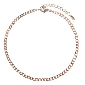Anklet Stainless Steel PVD-coating (gold color)