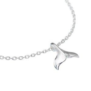 Fusskettchen Silber 925 Delphin Delfin
