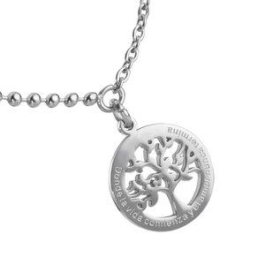 Fusskettchen Edelstahl Baum Baum_des_Lebens
