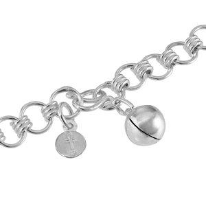 Fusskettchen Silber 925 Glocke Glöckchen