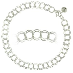 Anklet Silver 925 Bell