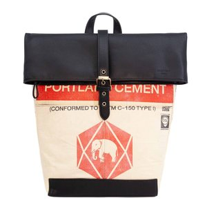 elephbo bag Recycled cement bag made of woven plastic Synthetic leather Ganesha Elephant