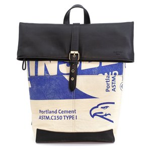 elephbo bag Recycled cement bag made of woven plastic Synthetic leather Eagle Bird Stork