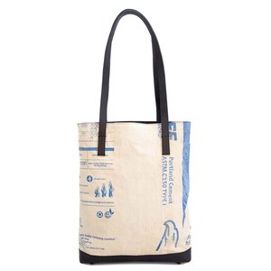 elephbo bag Recycled cement bag made of woven plastic Leather Eagle Bird Stork