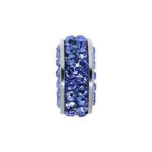 Bead Surgical Steel 316L Swarovski crystal