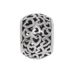 Bead Silver 925 Heart Love