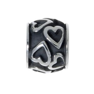 Bead Stainless Steel Heart Love