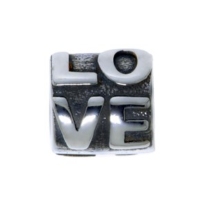 Bead Stainless Steel Love Affection