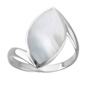 Silver ring Silver 925 Mother of Pearl