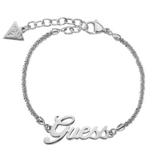 GUESS Bracelet Stainless Steel Letter Character Number