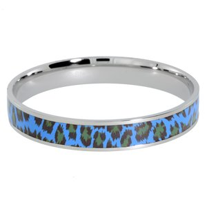 Armlet Stainless Steel Enamel Fur Fur_pattern Animal_Print