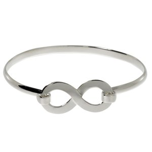 Armlet Silver 925 Eternal Loop Eternity
