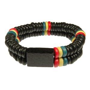 Surfer-Armband Holz Jamaica Reggae
