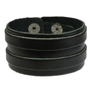 Bracelet Leather Stripes Grooves Rills