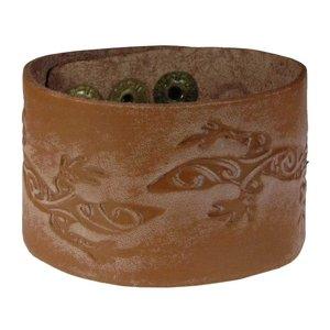 Bracciale Pelle Salamandra Gecko Gekko