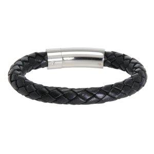 Bracelet Cuir Acier inoxydable Éternel Dragonne Infini