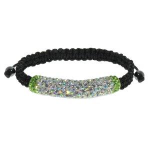 Bracelet Nylon Cristal Argent 925 PVC
