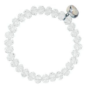 armband Kristal Howliet Staal